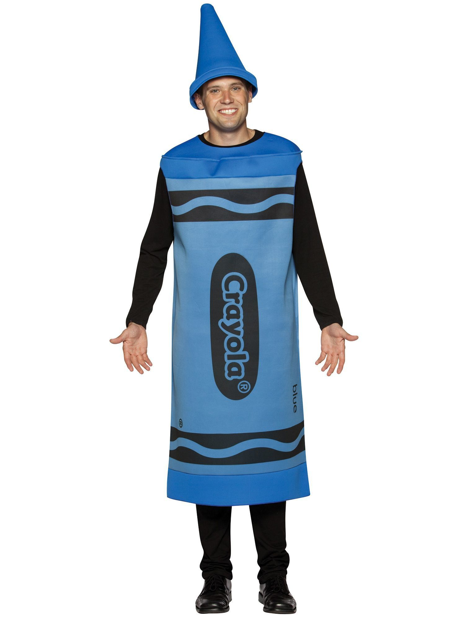 Mens Blue Crayola Crayon Costume  sc 1 st  Wholesale Halloween Costumes & Blue Crayola Crayon Costume - Wholesale Funny Mens Costumes