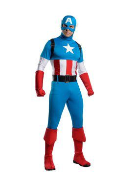 Adult's Classic Captain America Costume