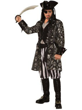 Captain Sterling Blackskull Mens Costume