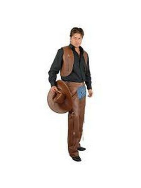 Plus Men's Vest and Chaps