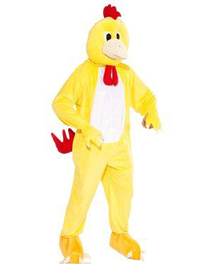 Men's Chicken Mascot Costume