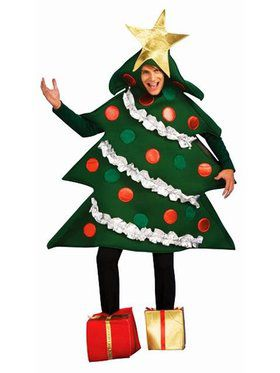 Men's Christmas Tree Costume