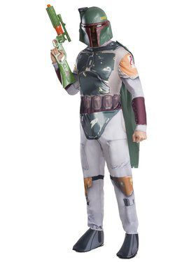 Boba Fett Classic Costume for Adults