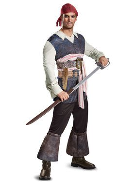 Classic Jack Sparrow Costume For Men