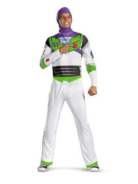 Mens Classic Toy Story Buzz Lightyear Costume