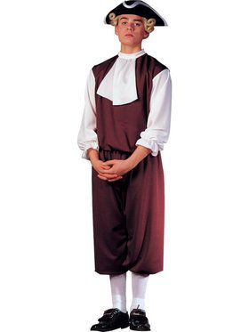 Men's Colonial Gentleman Costume