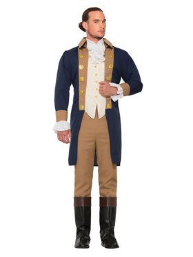 Men's Colonial Officer Costume