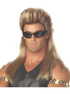 Men's Dark Blonde Bail Enforcer Wig