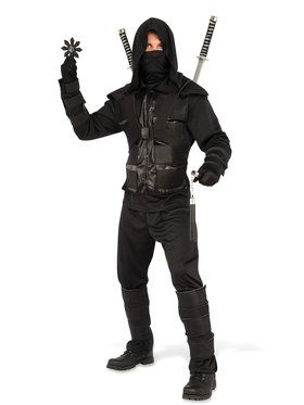 Mens Dark Ninja Costume