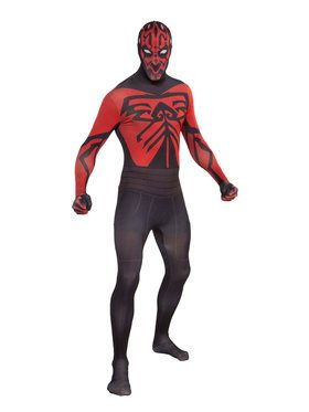 Skin Suit Star Wars Darth Maul Costume