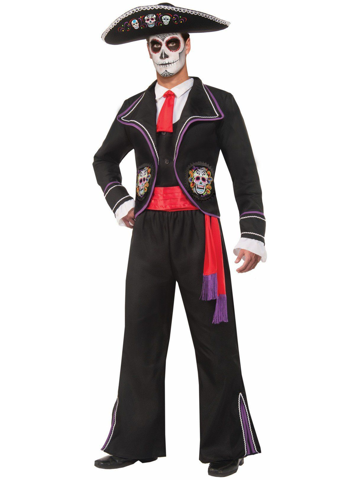 416eeb2b440 Macabre Day of the Dead Costume - Mens Costumes for 2018 | Wholesale ...