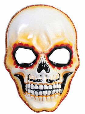 Men's Day of the Dead Skull Mask