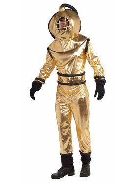 Deep Sea Diver Costume For Men