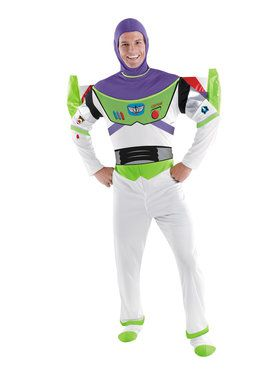 Mens Deluxe Buzz Lightyear Costume