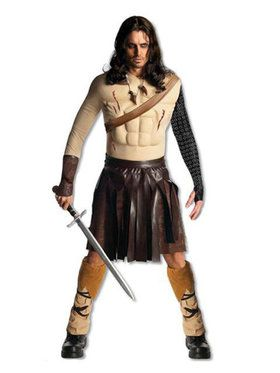 Mens Deluxe Conan the Barbarian Costume