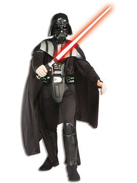 Mens Deluxe Darth Vader Costume