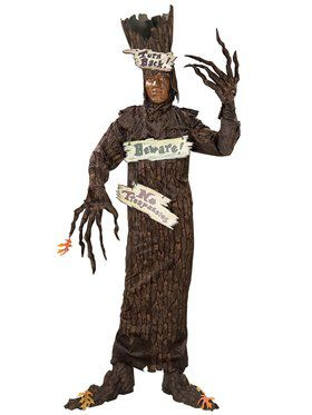 Mens Deluxe Haunted Tree Costume