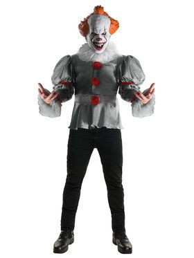 Men's IT Pennywise Costume Top