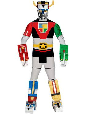 Mens Deluxe Voltron Costume