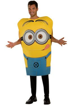 Mens Despicable Me Minion Dave Costume