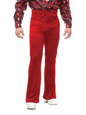 Men's Disco Pants - Red