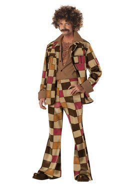 Mens Disco Sleazeball Costume