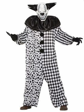 Men's Evil Al The Clown Costume