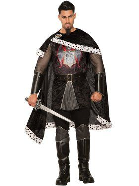Mens Evil King Costume