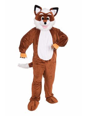 Mens Fox Mascot Costume