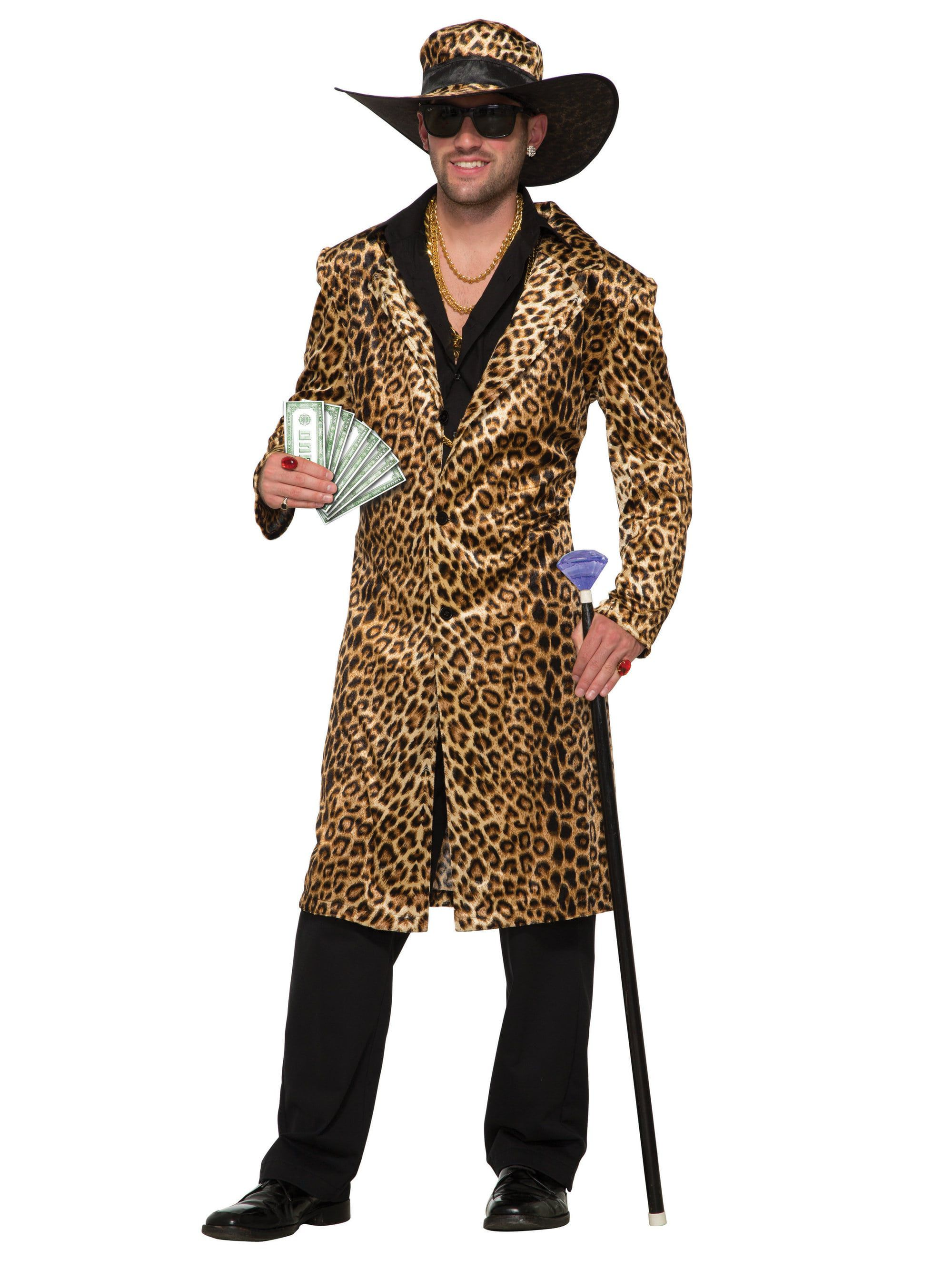 Funky Leopard Costume For Men , Mens Costumes for 2019