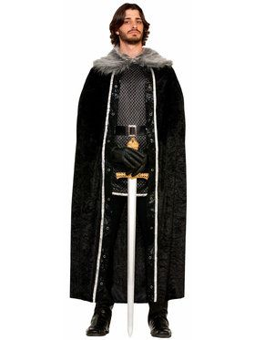 Mens Furry Cape
