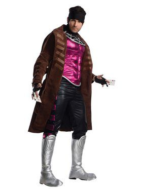 Men's New Gambit X-Men Costume