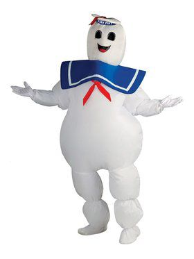 Mens Ghostbusters Inflatable Stay Puft Costume