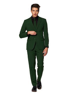 Men's Glorious Green Solid Suit