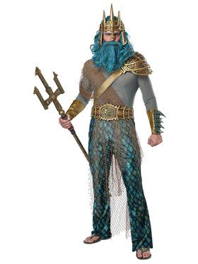 God of the Sea Men's Costume