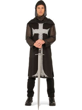 Gothic Knight Costume For Men