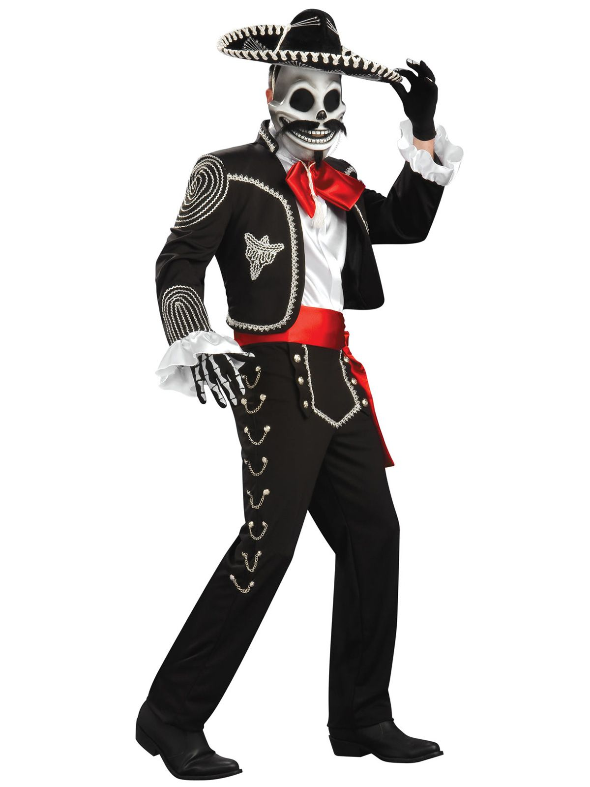 Rubie's Mens Day Of The Dead Costume