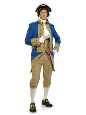 Mens Grand Heritage George Washington Costume