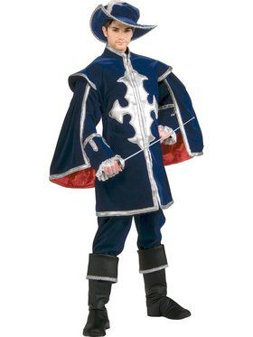 Mens Grand Heritage Musketeer Costume