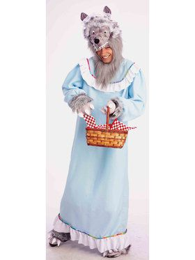Granny Wolf Costume For Men