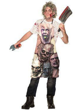 Mens Terrifying Butcher Costume