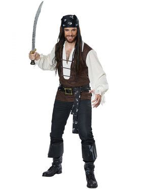 High Seas Adventurer Costume For Men