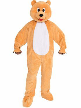 Men's Honey Bear Mascot Costume