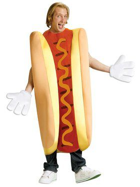 Men's Hot Dog Costume