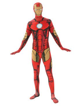 Skin Suit Iron Man Costume