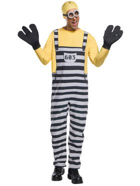 Jail Minion Tom Costume For Men