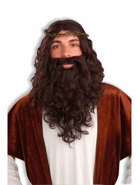 Men's Jesus Wig and Beard