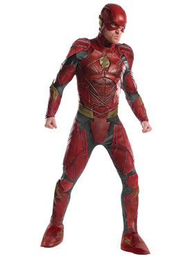 Mens Justice League Grand Heritage Flash Costume