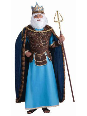 King Neptune Costume For Men