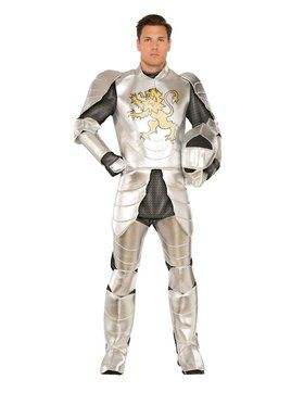 Childrens Gallant Knight Soldier Costume